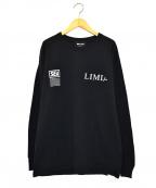 WIND AND SEA LIMI feu(ウィンダンシー×リミ フゥ)の古着「長袖Tシャツ」 ブラック