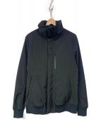 junhashimoto(ジュンハシモト)の古着「LOOSE HIGH NECK BLS」|ブラック