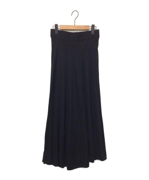 Deuxieme Classe(ドゥーズィエムクラス)Deuxieme Classe (ドゥーズィエムクラス) ニットスカート ブラック サイズ:表記なしの古着・服飾アイテム