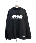 SWAGGER(スワッガー)の古着「モックネックスウェット」|ブラック