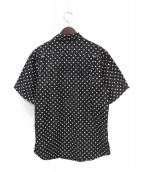 Supreme(シュプリーム)の古着「18SS Polka Dot Denim Shirt」|ブラック