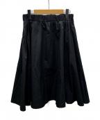 mizuiro-ind(ミズイロインド)の古着「フレアスカート」|ブラック