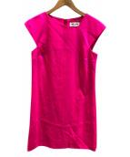 Saint Laurent Paris(サンローランパリ)の古着「ワンピース」|ピンク