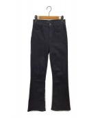 3×1(スリーバイワン)の古着「デニムパンツ」|ブラック