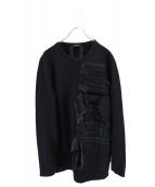 N°21 NUMERO VENTUNO(ヌメロヴェントゥーノ)の古着「スウェットワンピース」|ブラック