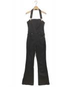 CLANE(クラネ)の古着「デニムサロペット」|ブラック