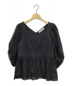 MARIHA(マリハ)の古着「夕映えのブラウス」|ブラック