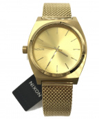 NIXON(ニクソン)の古着「TIME TELLER MILANESE ALL GOLD」