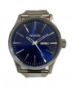 NIXON(ニクソン)の古着「SENTRY SS BLUE SUNRAY」
