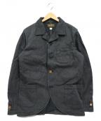 ORGUEIL(オルゲイユ)の古着「Sack Jacket」|ブラック