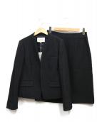 Paul Stuart(ポールスチュアート)の古着「スカートスーツ」|ブラック