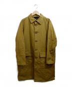 CASEY CASEY(ケーシーケーシー)の古着「コート」 カーキ