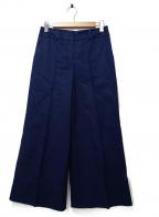 CINOH(チノ)の古着「TWILL BAGGY PANTS」|ネイビー
