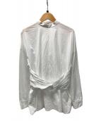 ()の古着「TWIST WAIST SHIRT」 ホワイト