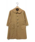 tricot COMME des GARCONS(トリコ コムデギャルソン)の古着「10SS 丸襟コート」|ベージュ
