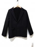 UNITED ARROWS TOKYO(ユナイティッドアローズトウキョウ)の古着「ナイロンポリエステル2Bジャケット」|ブラック