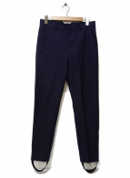 BED J.W. FORD(ベッドフォード)の古着「ストライプパンツ」|ネイビー
