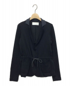 fabiana filippi(ファビアナ フィリッピ)の古着「コットンジャージジャケット」|ネイビー