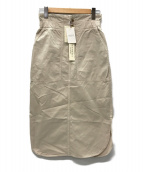 VERMEIL par iena(ヴェルメイユ パー イエナ)の古着「20SS コーマギャバポケットスカート」|ベージュ