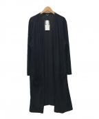 INDIVI(インディビ)の古着「ロングカーディガン」 ブラック
