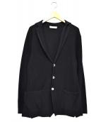 CRUCIANI(クルチアーニ)の古着「3Bニットジャケット」|ネイビー