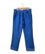 WESTOVERALLS(ウエストオーバーオールズ)の古着「817Fデニムパンツ」 ブルー