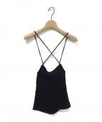 LEINWANDE()の古着「Summer Jersey Camisole」|ブラック