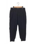 Y's(ワイズ)の古着「ウールイージーパンツ」 ブラック
