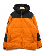 LEFLAH(レフラー)の古着「ダウンジャケット」|オレンジ×ブラック