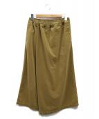 THE NORTHFACE PURPLELABEL(ザノースフェイスパープルレーベル)の古着「Wrap Culotteパンツ」 ベージュ