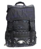 KENZO(ケンゾー)の古着「Multiicon Back Pack」|ネイビー