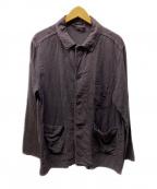 nestrobe confect(ネストローブ コンフェクト)の古着「リネンジャケット」 ブラウン