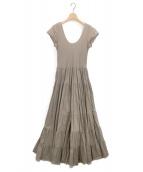 MARIHA(マリハ)の古着「草原の虹のドレス」|ブラウン