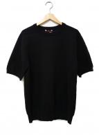 SLOANE(スローン)の古着「クルーネックニット」|ブラック