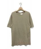 EVERYDAY I LIKE(エヴリデイ アイ ライク)の古着「Li/Co Tシャツ」|ベージュ