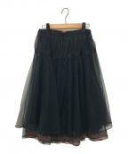 HaaT(ハート)の古着「チュールスカート」 ブラック