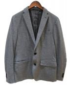 JOSEPH HOMME(ジョセフオム)の古着「ウーステッドモックロディジャケット」|グレー