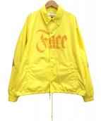 FACETASM(ファセッタズム)の古着「リブコーチジャケット」 イエロー