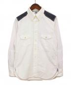 eYe COMME des GARCONS JUNYAWATANABE MAN(アイコムデギャルソンジュンヤワタナベマン)の古着「オックスフォードシャツ」 ホワイト