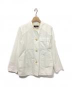 ISABEL MARANT(イザベルマラン)の古着「スプリングジャケット」|オフホワイト