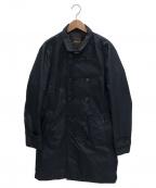 MOORER(ムーレー)の古着「セミダブルコート」 ネイビー
