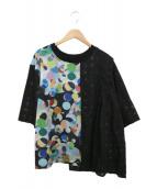 FRAPBOIS(フラボア)の古着「カンブリアンオパールカットソー」|ブラック