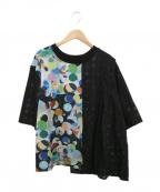 FRAPBOIS(フラボア)の古着「カンブリアンオパールカットソー」 ブラック