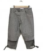 DELADA(デラダ)の古着「UNISEX ADJUSTABLE SHORTS」 グレー