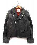 IENA LA BOUCLE(イエナ ラ ブークル)の古着「ダブルライダースジャケット」|ブラック