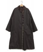 Leilian(レリアン)の古着「ロシアリスファーコート」 ブラウン