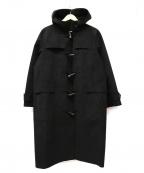 ticca(ティッカ)の古着「ウルトラスエードダッフルコート」|ブラック