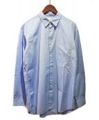 COMME des GARCONS SHIRT(コムデギャルソンシャツ)の古着「レギュラーカラーシャツ」 スカイブルー