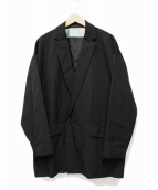 Dulcamara(ドゥルカマラ)の古着「よそいきダブルJK-S」|ブラック