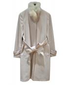 22 OCTOBRE(ヴァンドゥ-オクトーブル)の古着「カシミヤ混ウールコート」|グレー